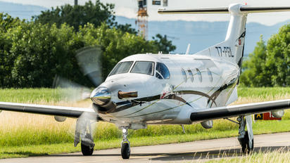 T7-PBL - FLY 7 Executive Aviation SA Pilatus PC-12