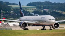 Aeroflot Boeing 777-300ER visited Zurich title=