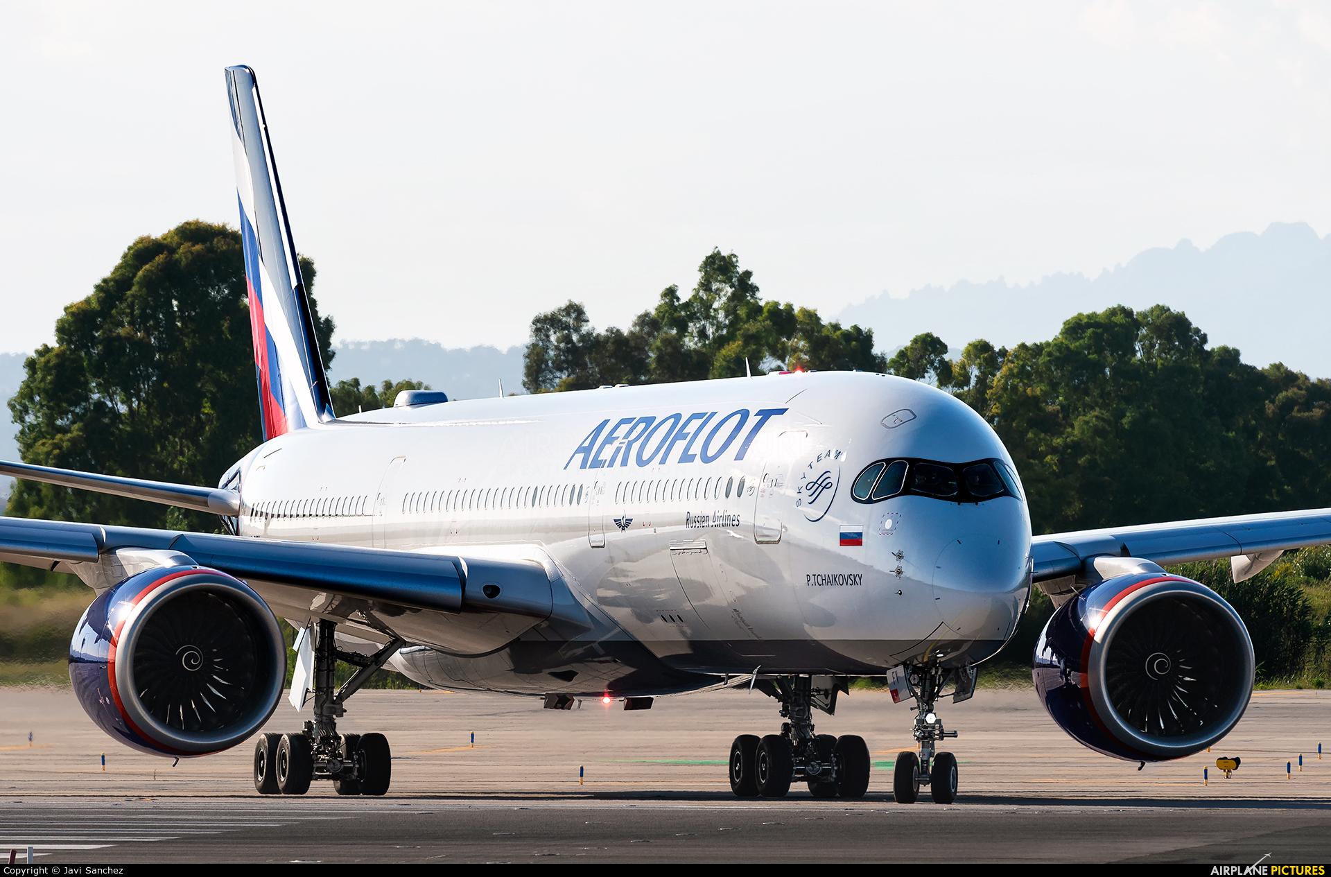 Aeroflot VQ-BFY aircraft at Barcelona - El Prat