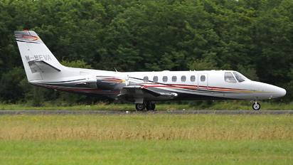 M-MEVA - Private Cessna 560 Citation Ultra