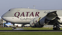 A7-BGA - Qatar Airways Cargo Boeing 747-8F aircraft