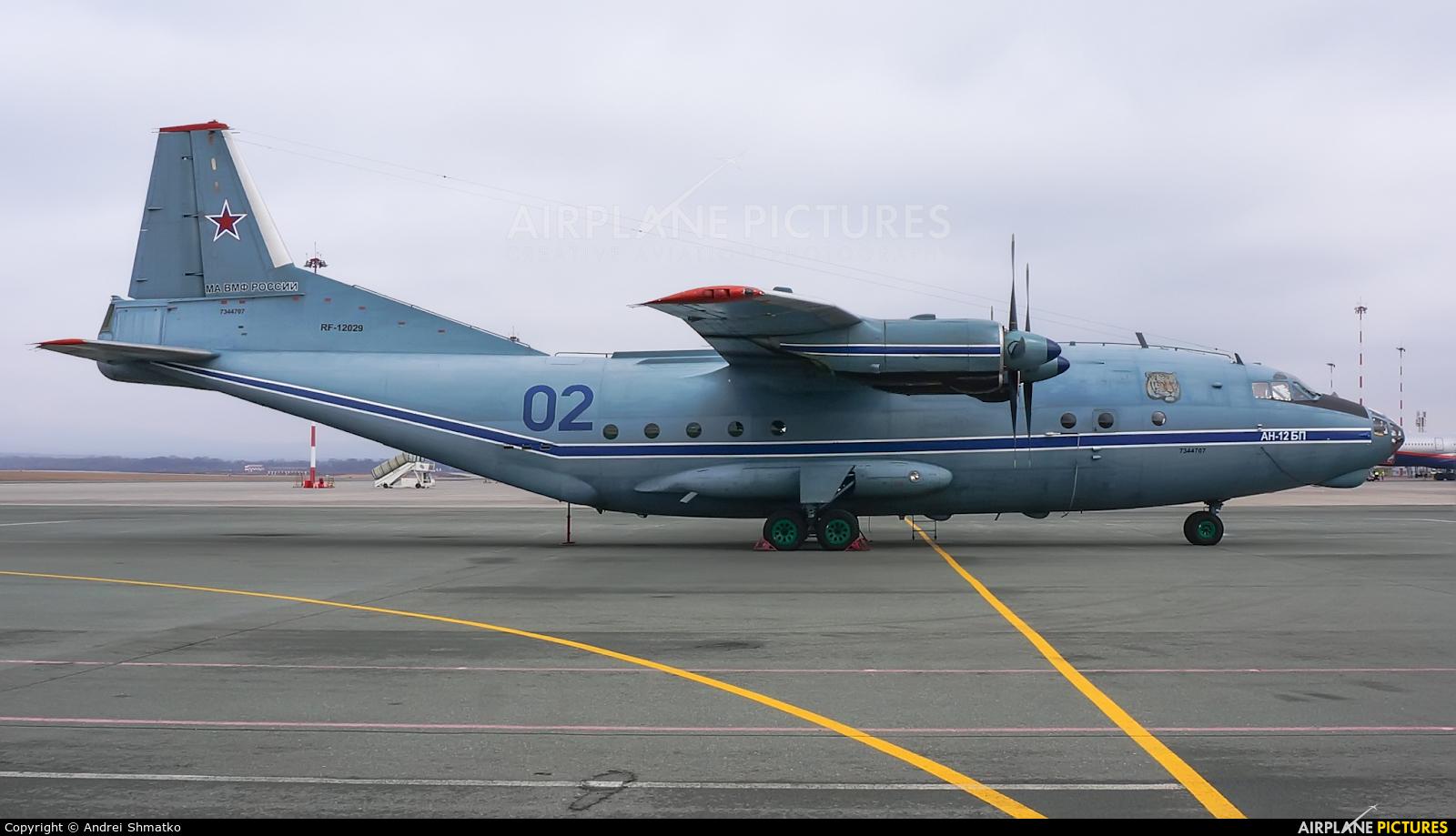 Russia - Navy RF-12029 aircraft at Vladivostok Knevichi