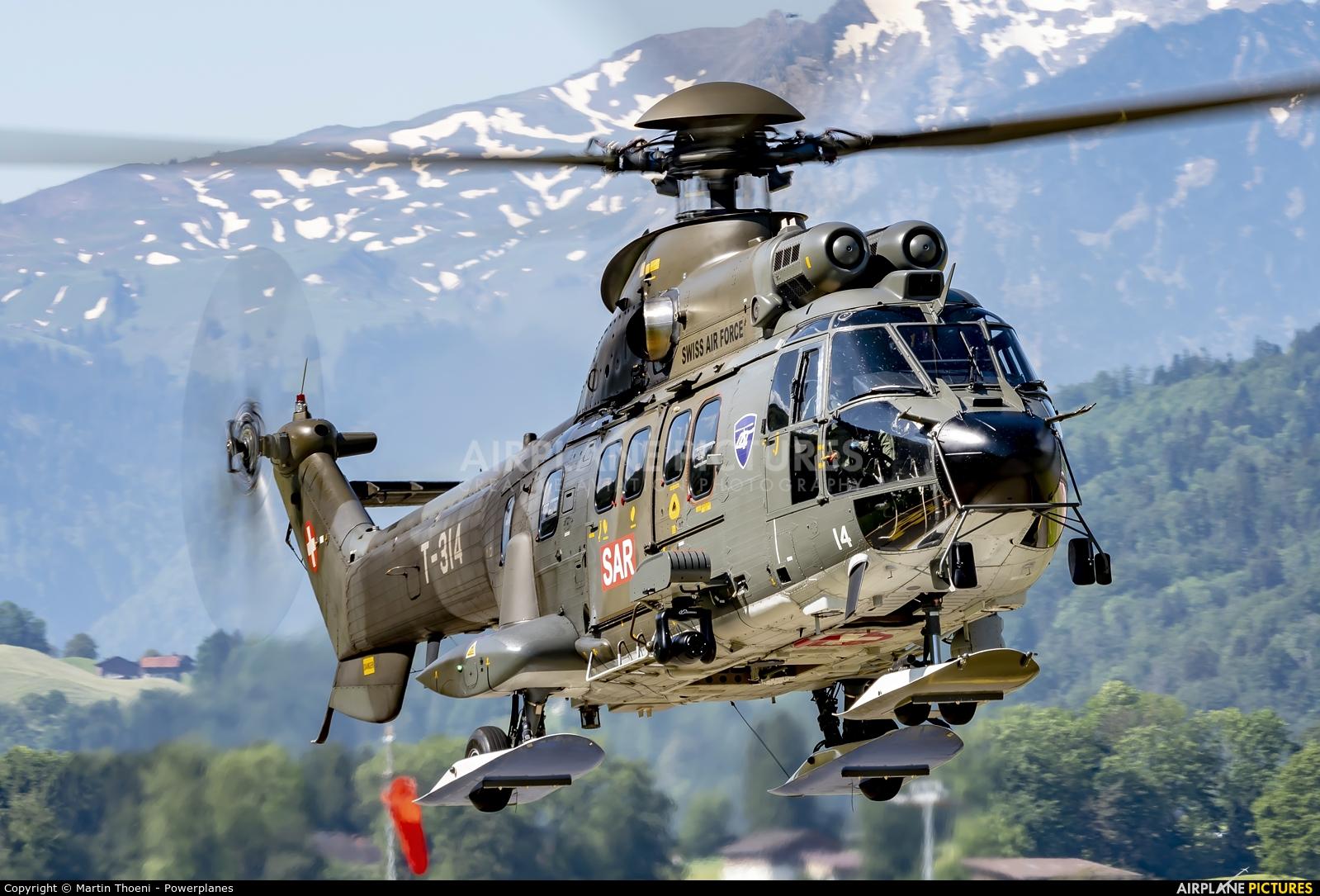 Switzerland - Air Force T-314 aircraft at Alpnach