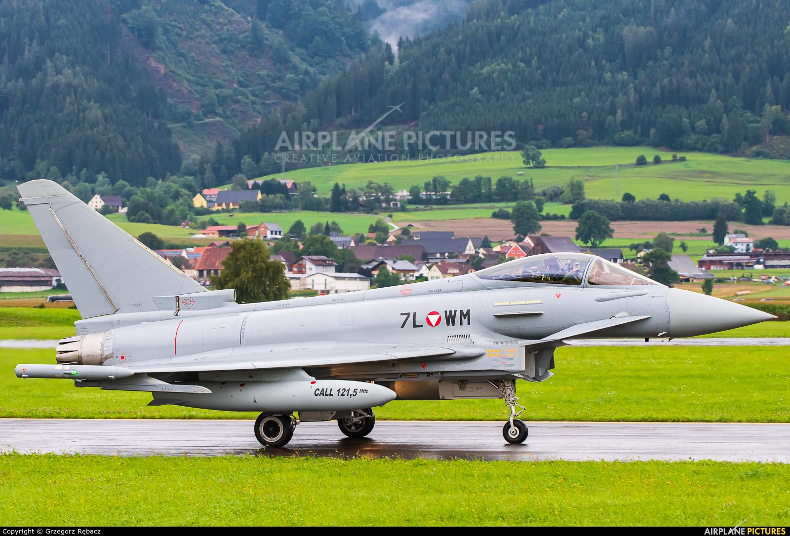 Austria - Air Force 7L-WM aircraft at Zeltweg