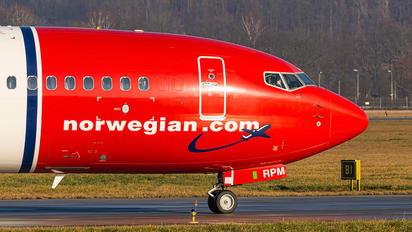 SE-RPM - Norwegian Air Sweden Boeing 737-86J