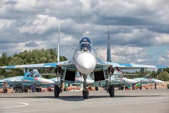 RF-33757 - Russia - Navy Sukhoi Su-27UB