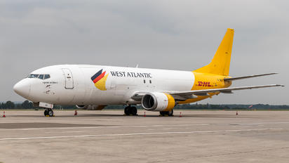 G-JMCX - West Atlantic Boeing 737-400SF