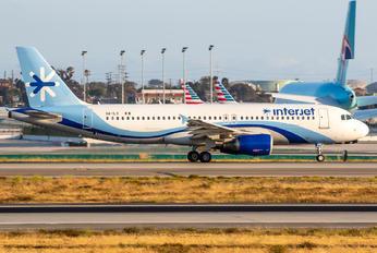 XA-ILY - Interjet Airbus A320
