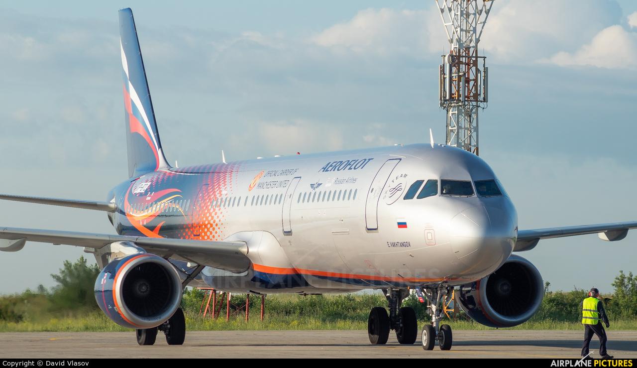 Aeroflot VP-BTL aircraft at Kemerovo