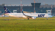 SP-LNI - LOT - Polish Airlines Embraer ERJ-195 (190-200) aircraft