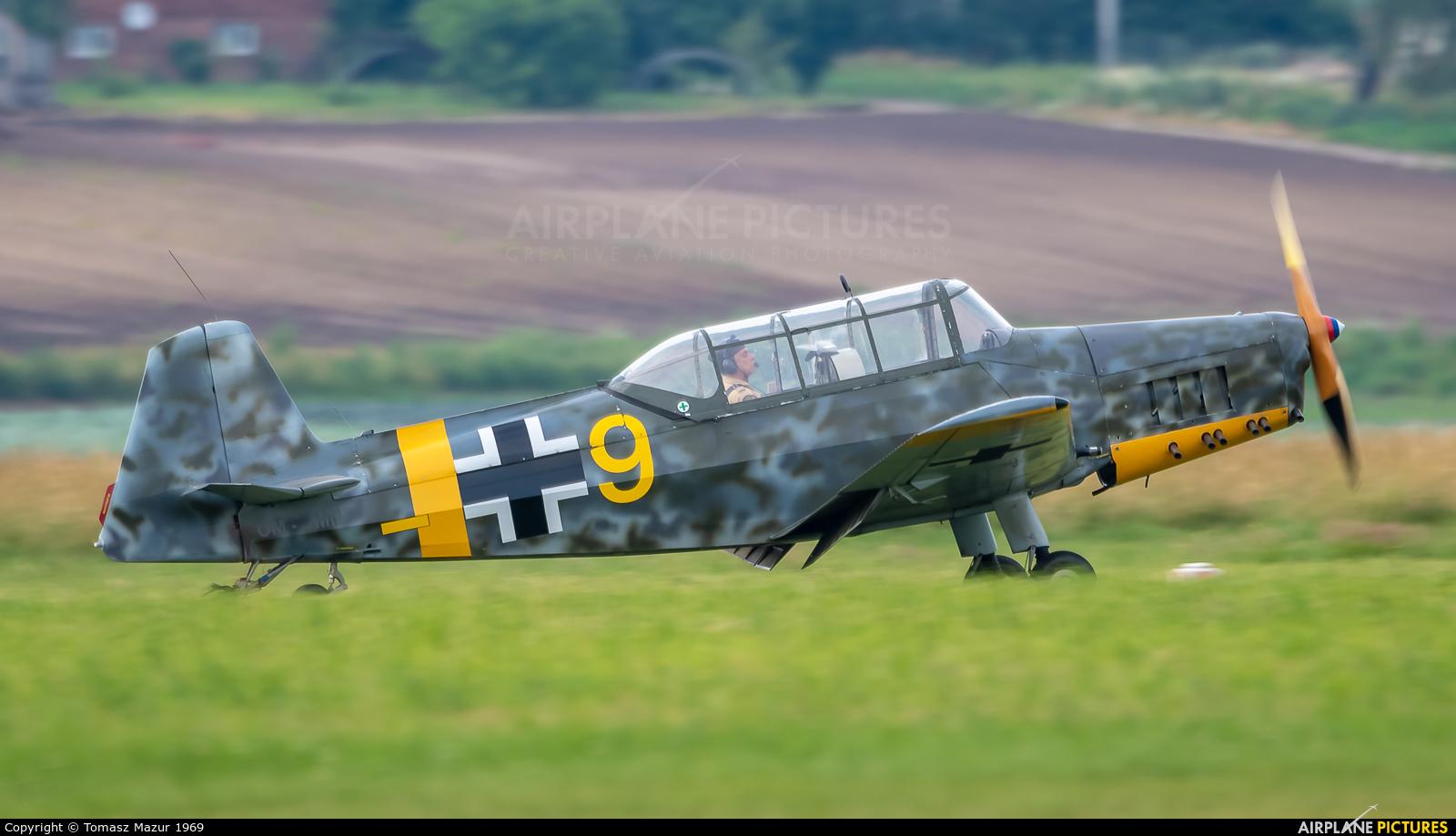 Private OM-WMN aircraft at Kraków - Pobiednik Wielki
