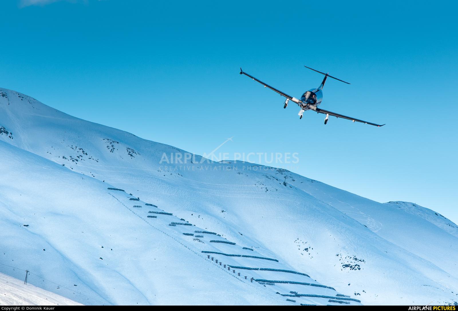 Air Corviglia HB-FVD aircraft at Samedan - Engadin