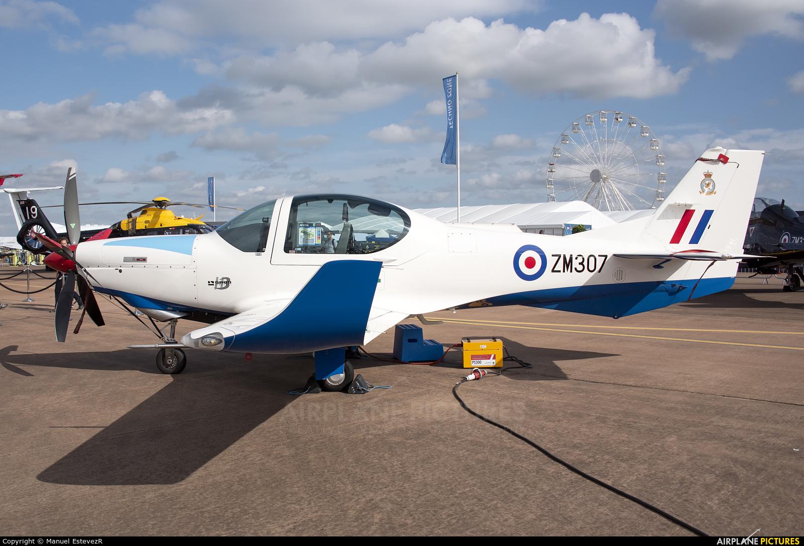 Royal Air Force ZM307 aircraft at Fairford