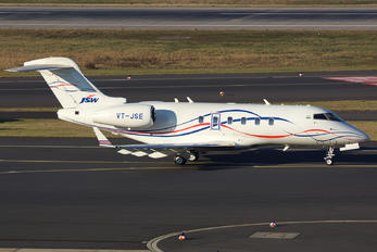 VT-JSE - Private Bombardier BD-100 Challenger 300 series