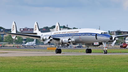 HB-RSC - Breitling Lockheed C-121C Super Constellation
