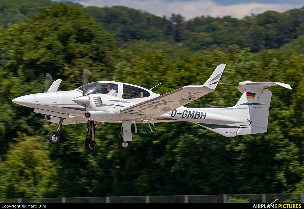 Private D-GMBH aircraft at Augsburg