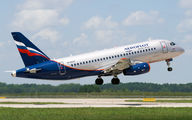RA-89097 - Aeroflot Sukhoi Superjet 100 aircraft