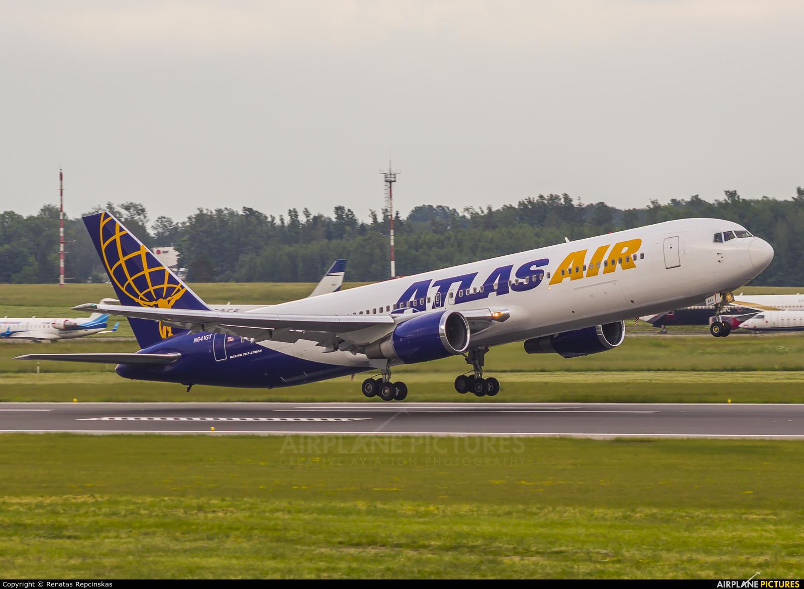 Atlas Air N641GT aircraft at Vilnius Intl