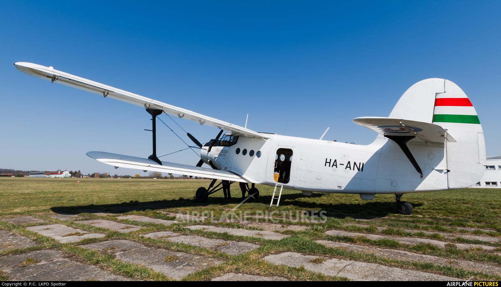 Private HA-ANI aircraft at Chrudim