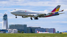 HL7620 - Asiana Cargo Boeing 747-400 aircraft