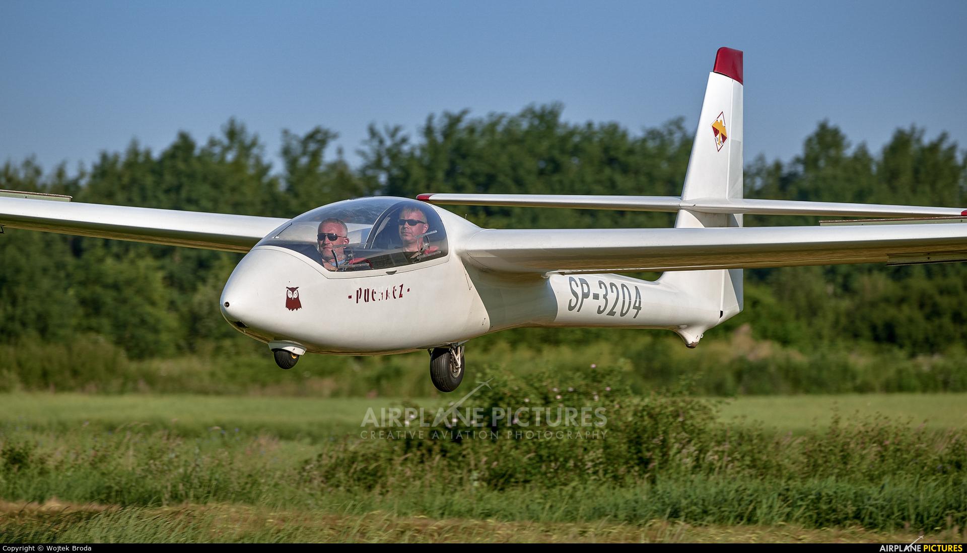 Aeroklub Wroclawski SP-3204 aircraft at Wrocław - Szymanów