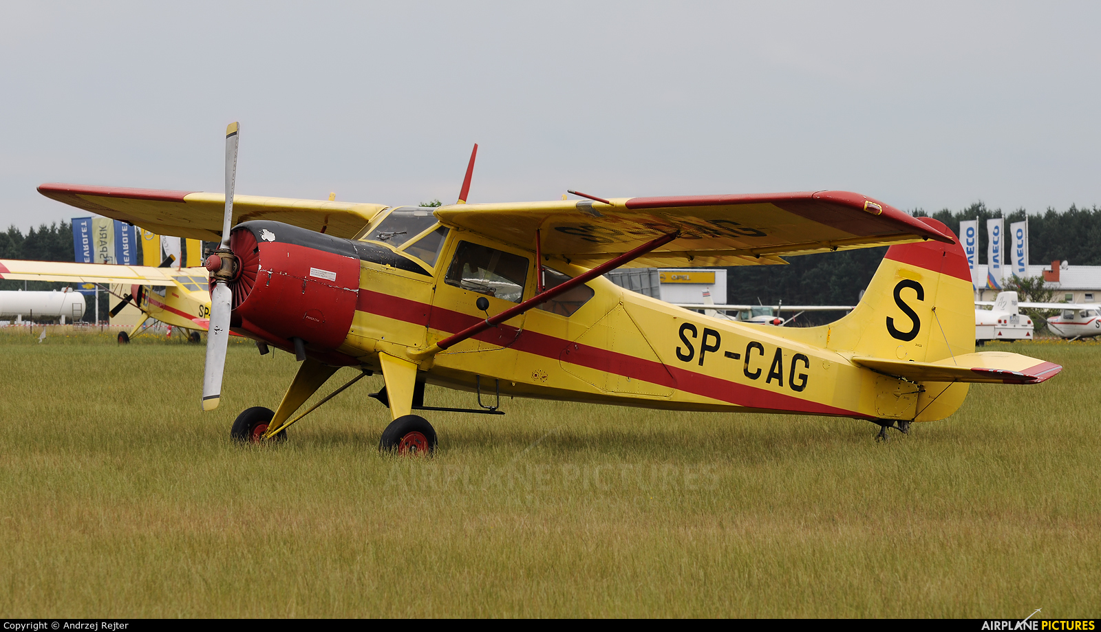 Private SP-CAG aircraft at Leszno - Strzyżewice