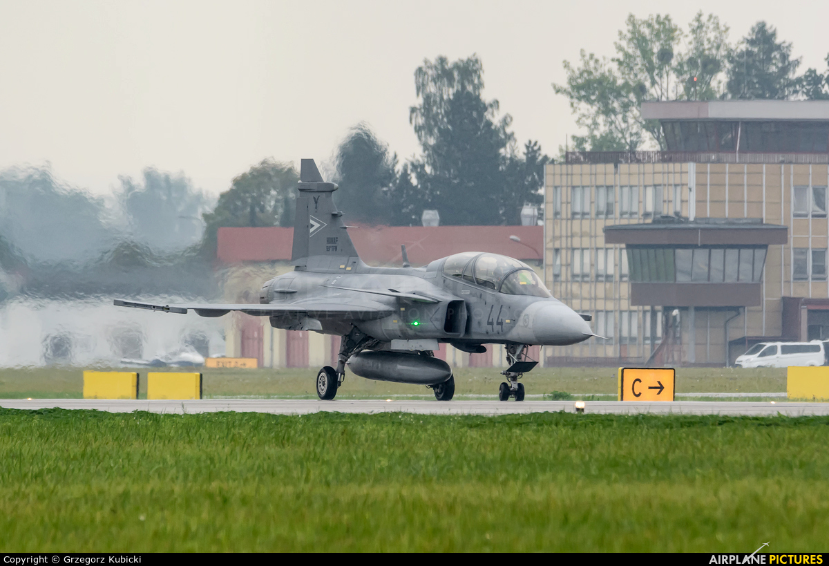 Hungary - Air Force 44 aircraft at Ostrava Mošnov