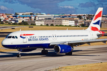 G-EUYF - British Airways Airbus A320