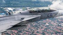 44 - Hungary - Air Force SAAB JAS 39D Gripen aircraft