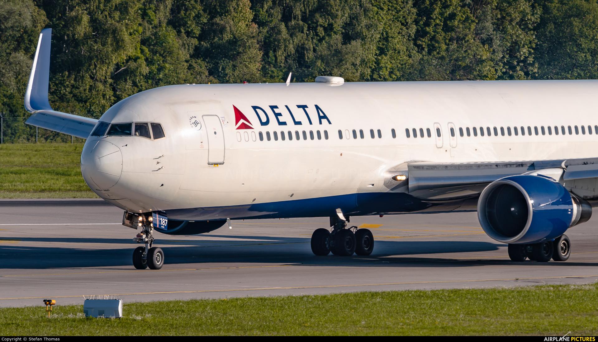 Delta Air Lines N187DN aircraft at Munich