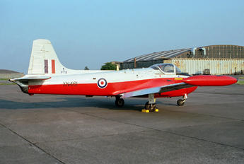 XN461 - Royal Air Force Hunting Percival Jet Provost