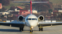 HB-JVF - Helvetic Airways Fokker 100 aircraft