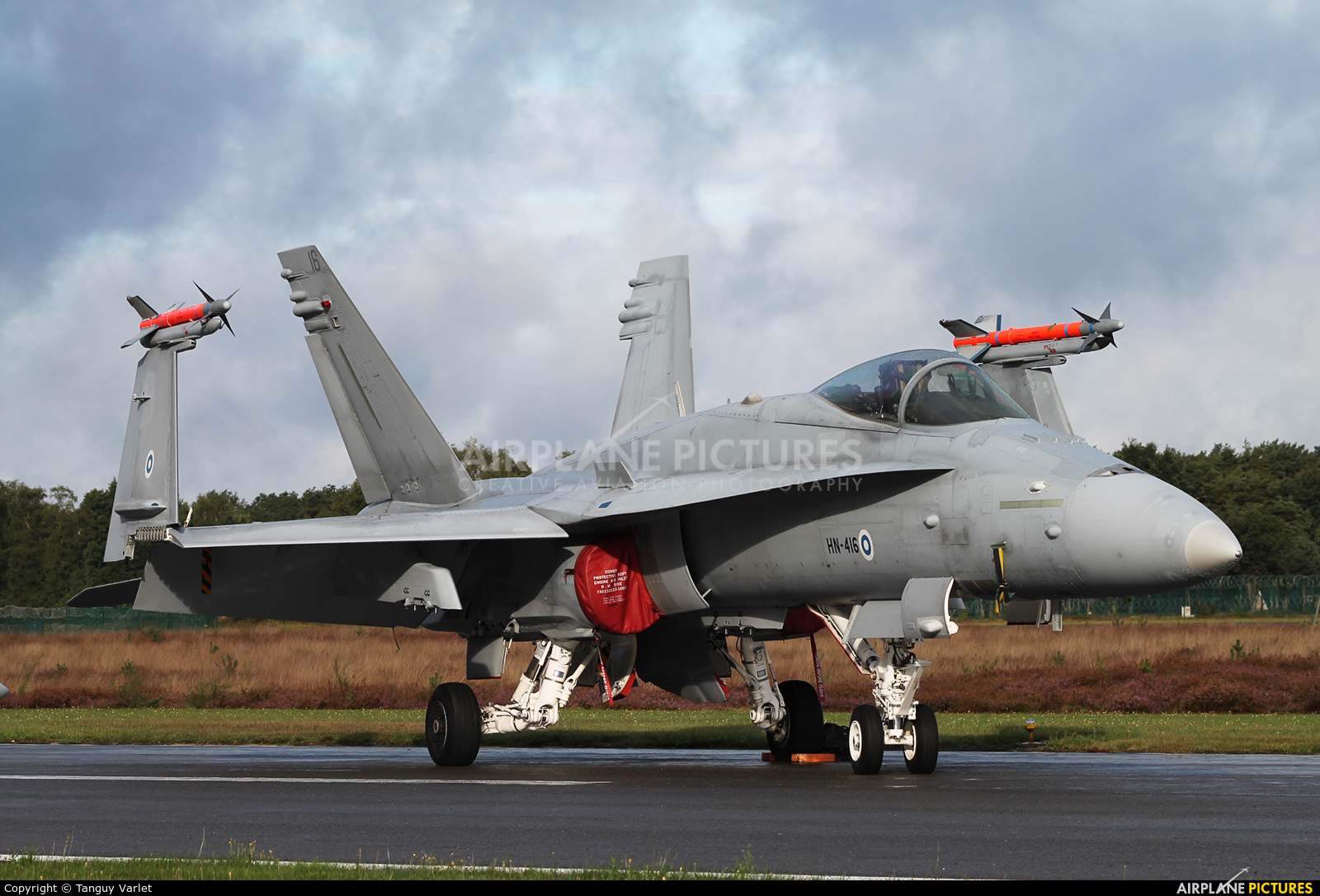Finland - Air Force HN-416 aircraft at Kleine Brogel