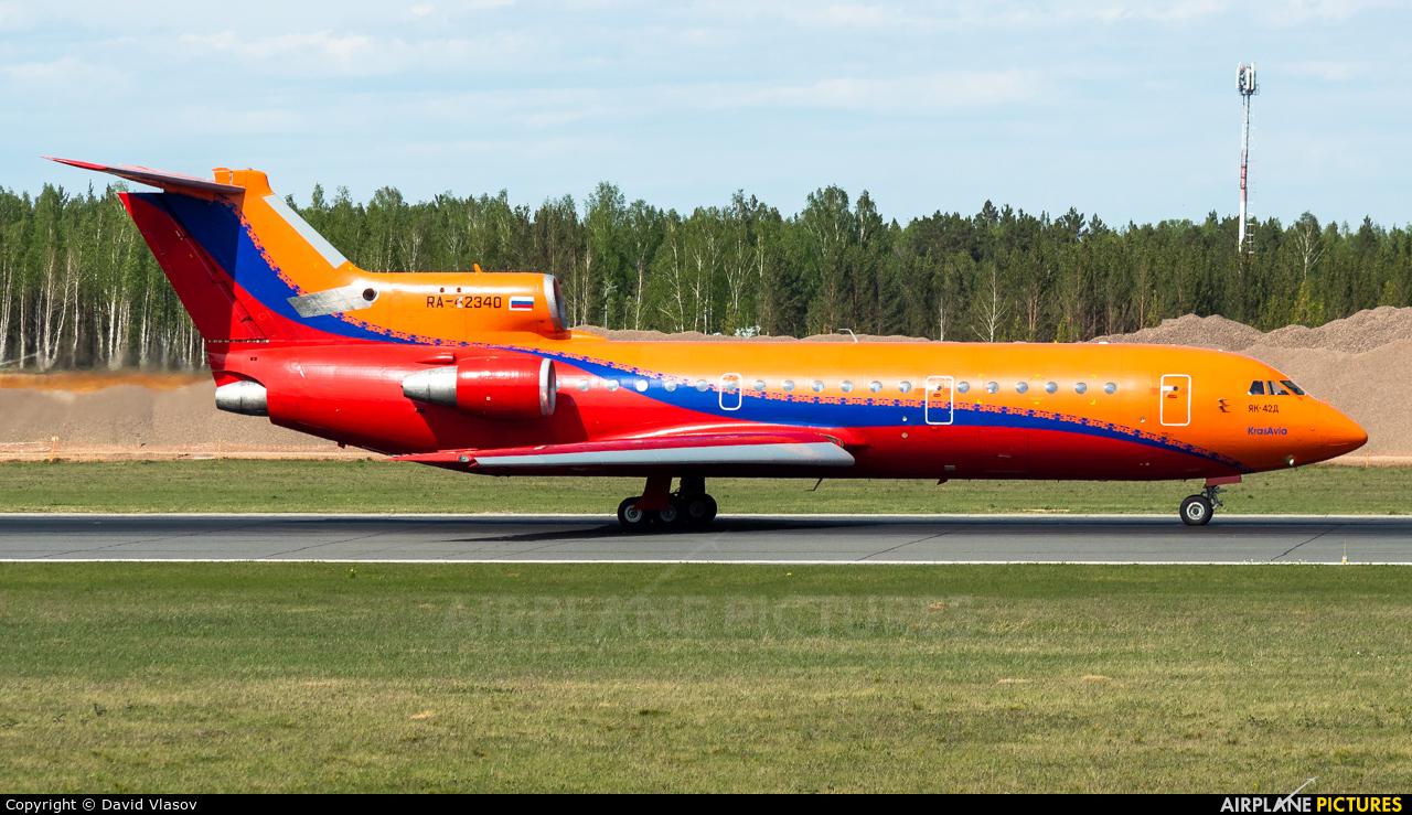 KrasAvia RA-42340 aircraft at Krasnoyarsk - Yemelyanovo