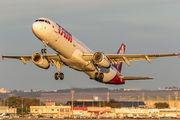 PT-MXH - TAM Airbus A321 aircraft