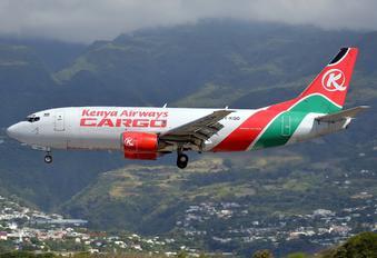 5Y-KQD - Kenya Airways Cargo Boeing 737-300SF
