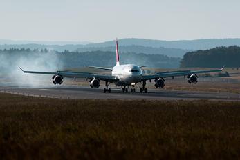 HB-JMG - Swiss Airbus A340-300