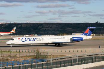 TC-ONR - Onur Air McDonnell Douglas MD-88