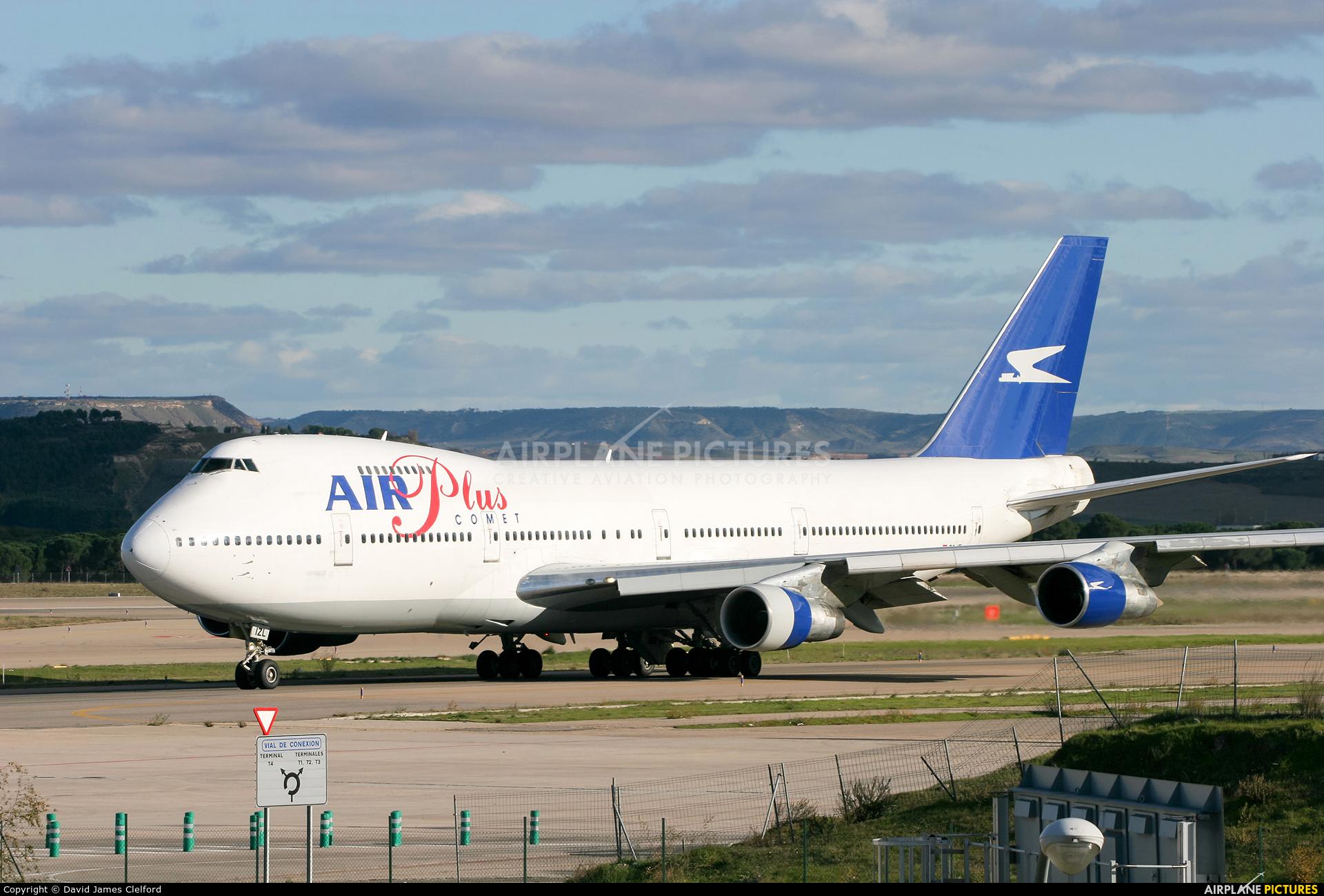 Air Plus Comet EC-IZL aircraft at Madrid - Barajas