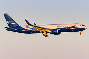 4K-SW808 - Silk Way Airlines Boeing 767-300F