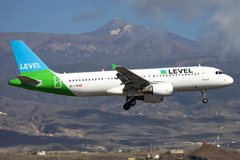 OE-LVR - LEVEL Airbus A320