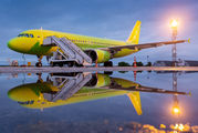 S7 Airlines A320 visited Ulyanovsk title=