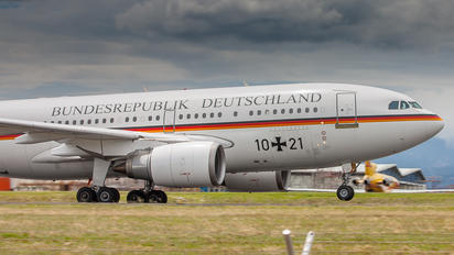 10-21 - Germany - Air Force Airbus A310