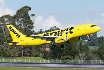 N616NK - Spirit Airlines Airbus A320