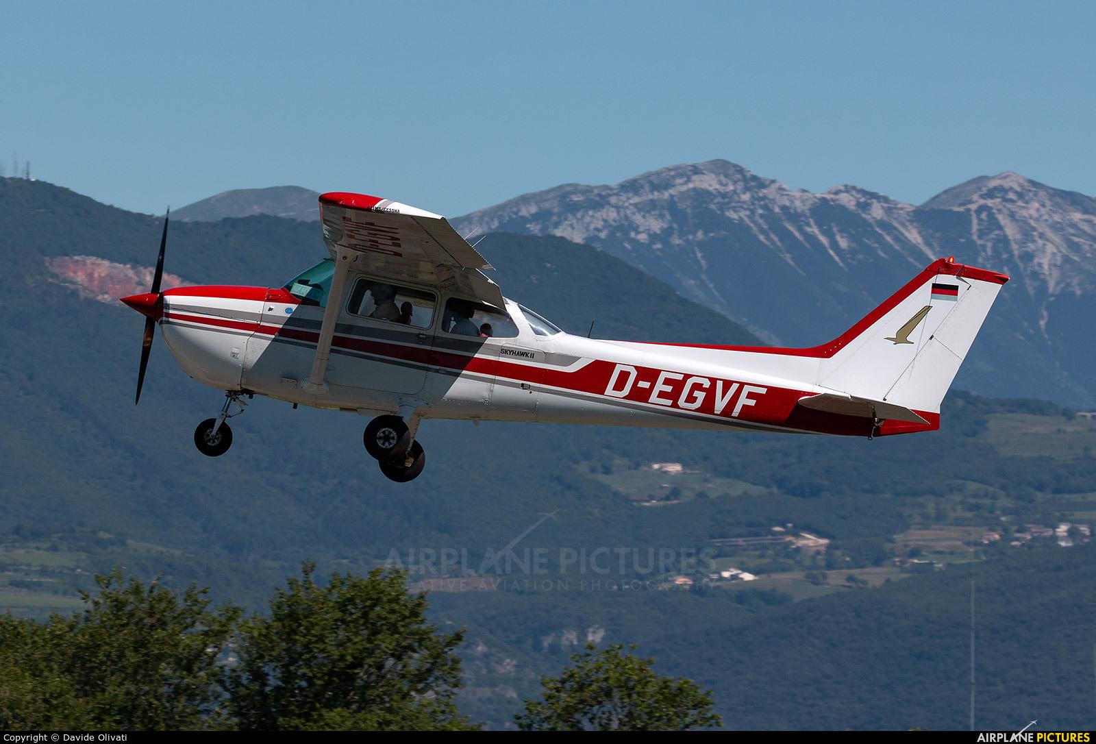 Private D-EGFV aircraft at Verona - Boscomantico