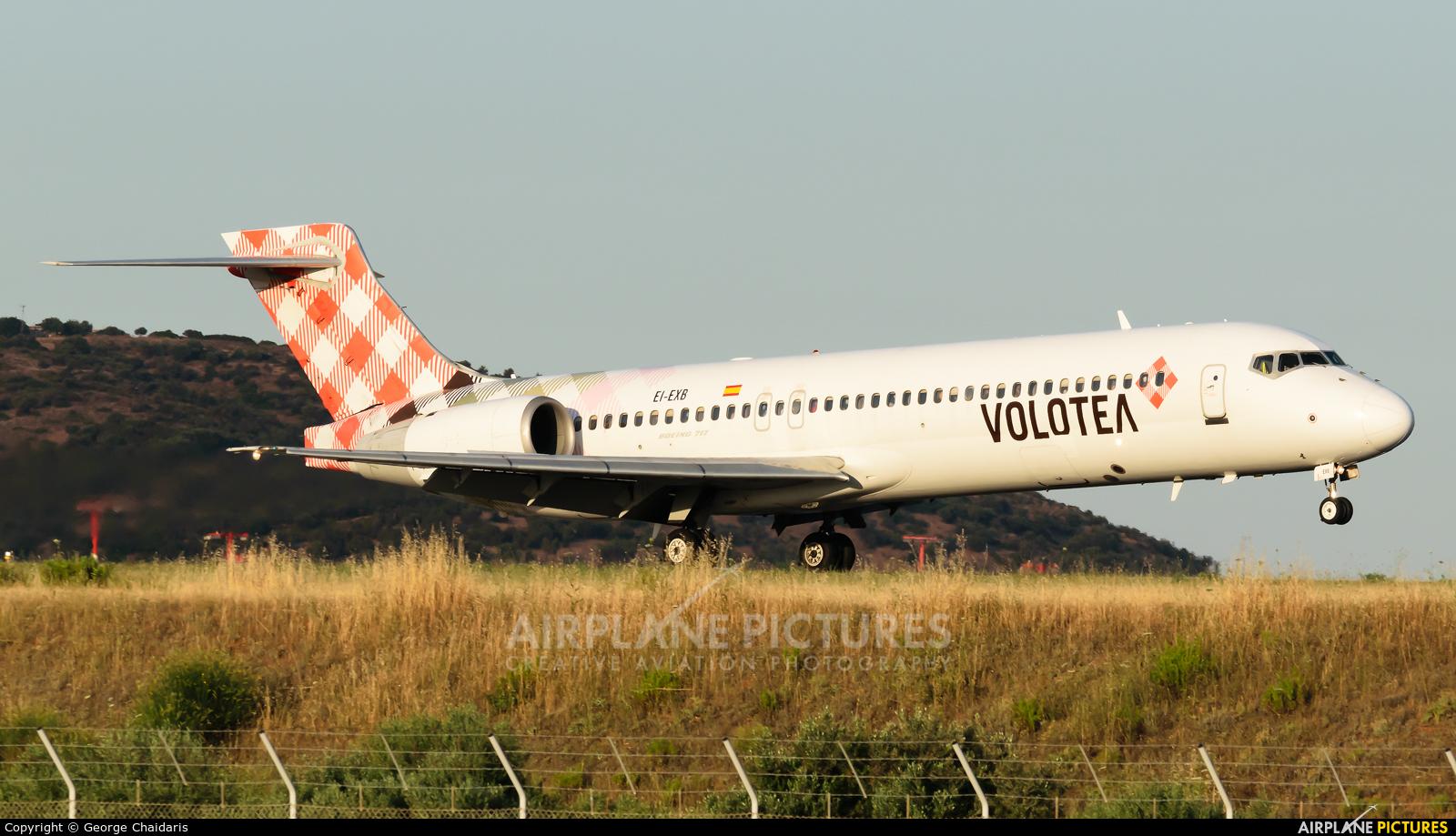 Volotea Airlines EI-EXB aircraft at Athens - Eleftherios Venizelos