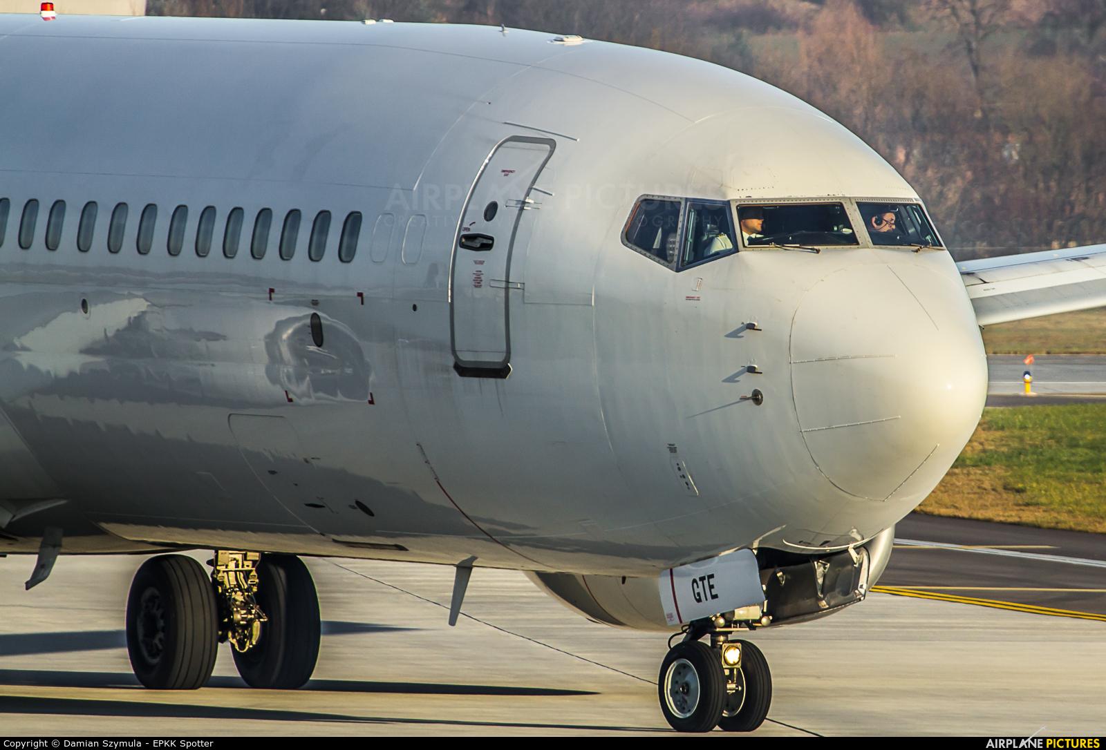 Go2Sky Airline OM-GTE aircraft at Kraków - John Paul II Intl