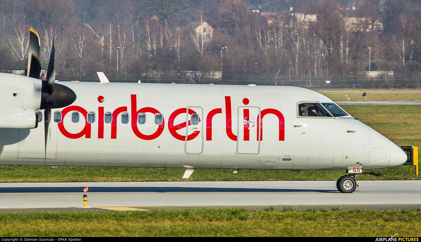 Air Berlin D-ABQQ aircraft at Kraków - John Paul II Intl