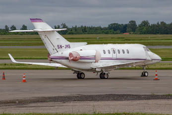5N-JMB - Private Hawker Beechcraft 800XP