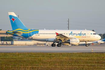 P4-AAE - Aruba Airlines Airbus A319